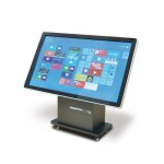 PlentiMedia Tisch-Touch-Display Pro II 55 Zoll Mega Smart-Phone look Touchscreen Digital Signage
