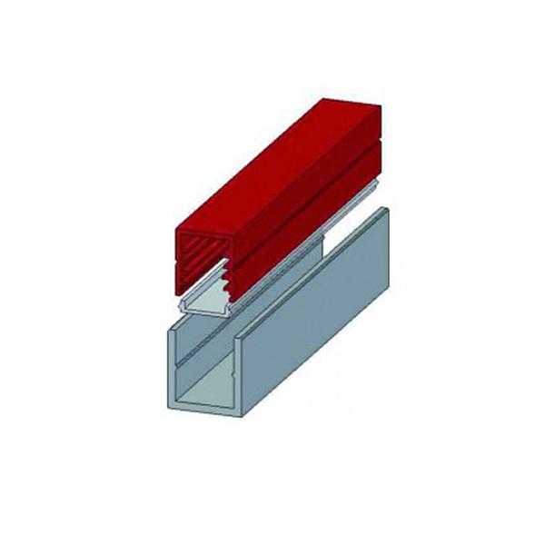led montageprofil u profil kunststoff mit deckel je meter. Black Bedroom Furniture Sets. Home Design Ideas