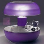 iPhone Tischleuchte JOYO LIGHTCOLORS lila mit USB