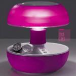 iPhone Tischleuchte JOYO LIGHTCOLORS rosa mit USB