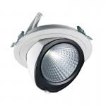 CLE YK FORTIMO SLM LED Einbauleuchte 43W 3000LM weiss schwenkbar