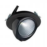CLE YK FORTIMO SLM LED Einbauleuchte 43W 3000LM schwarz schwenkbar