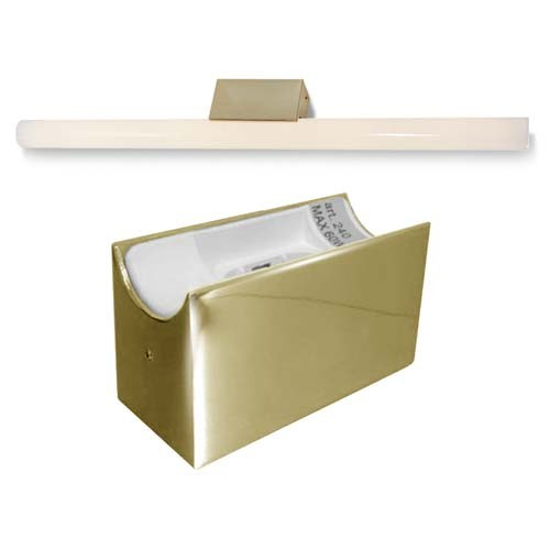 alutec spiegelleuchte linestra linienlampe 1x 35 60w. Black Bedroom Furniture Sets. Home Design Ideas
